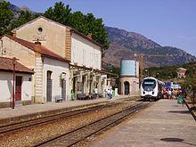Gare de Corte