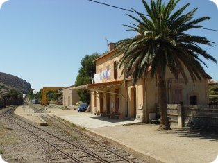 Gare d'Ile Rousse